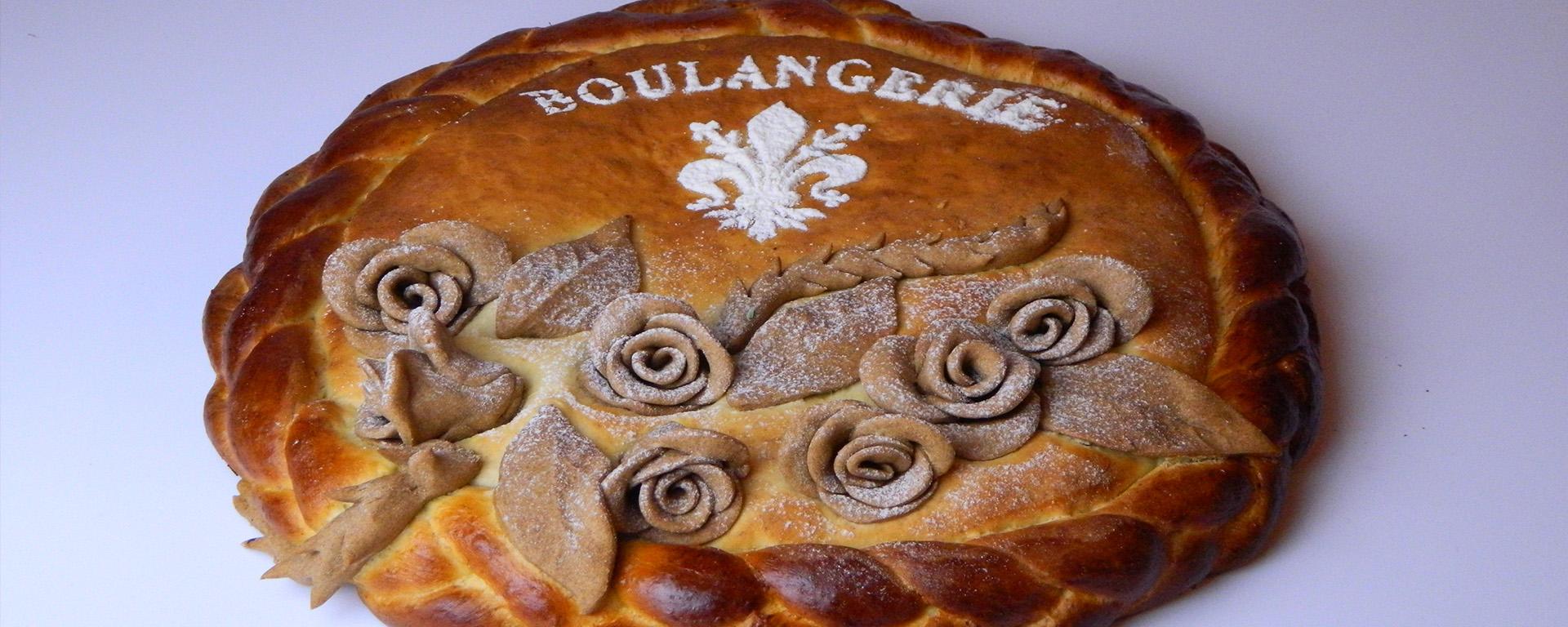 Escultura de pães