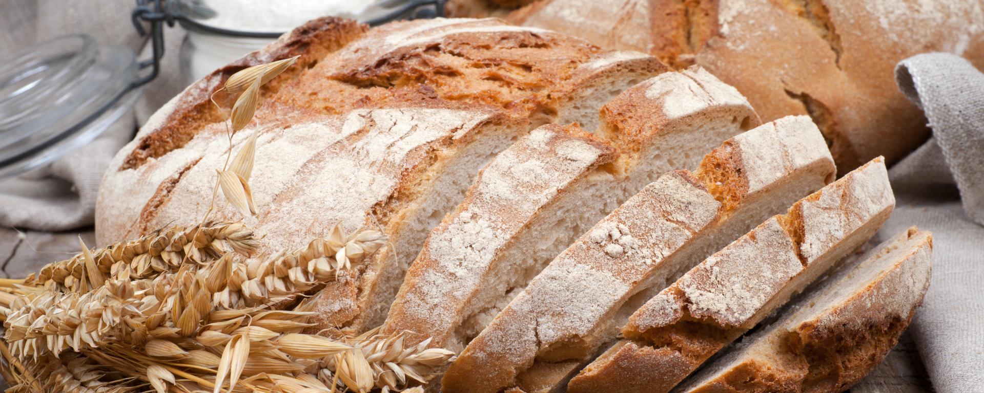 Pão Branco com fermento natural