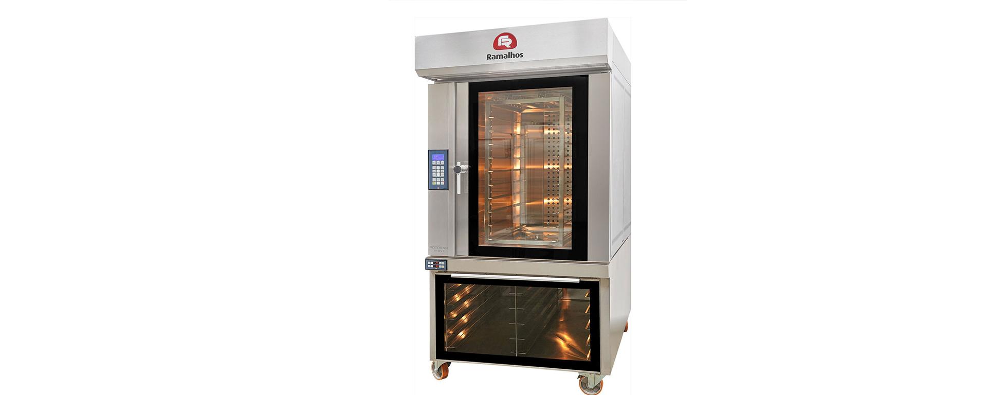 Ramalhos lança forno rotativo compacto