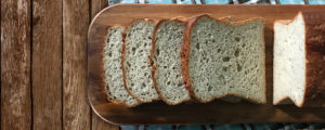 Pão com trigo sarraceno sem glúten