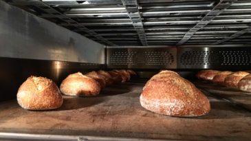 O forno de lastro e o pão de casca grossa