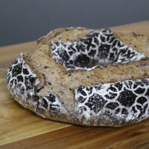 Pão de quinoa negra e sarraceno