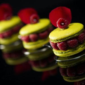 Macaron Fleur d'amour