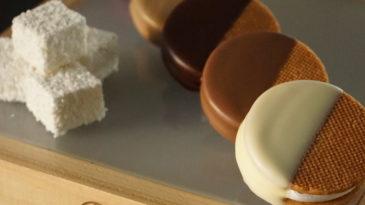 Bolacha de limão siciliano e Marshmallow 5 cores